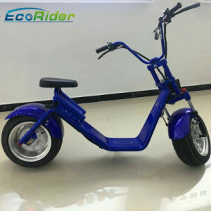 2017 Hot Sale 1200W Electric Harley Scooter with EEC Approved pictures & photos