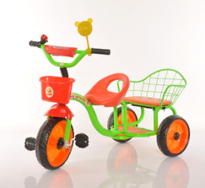 China Kids Bike Baby Tricycle Twin Baby Tricycle Ride on Toys pictures & photos