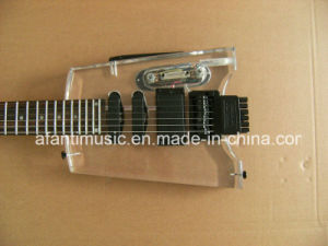 Afanti Music / Acrylic Headless Electric Guitar (AAG-043) pictures & photos