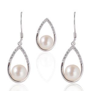Pearl Jewellery, Freshwater Pearls, Pearl Pendant, Pearl Drop Earrings pictures & photos