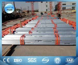 Galvanized or Painted Transmission Line Steel Tower pictures & photos