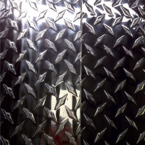 Checkered Aluminium Sheet 1060, 1070, 5052, 5754, 6063 pictures & photos