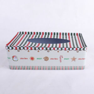 Rectangle Tissue Tin Box Christmas Promotion Gifts pictures & photos