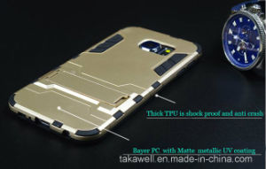 China Wholesale Mobile Phone Accessory OEM Iron Man Armor Case for Samsung S6/S6 Edge/S7/S7 Edge Cell Phone Cover Case pictures & photos