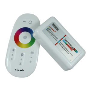 2.4G Touch Screen RGB LED Control System