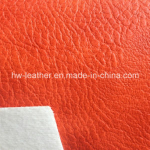 High Quality Embossed Leather for Shoes (HW-967) pictures & photos