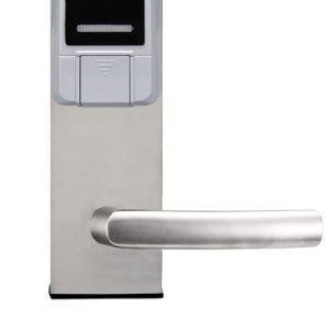 ID Card with Keypad Front Door Lock pictures & photos