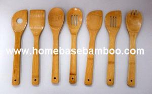 Walmart Fackelmann Bamboo Kitchen Utensil Tools pictures & photos