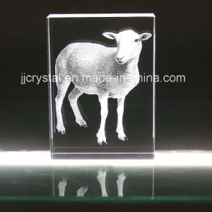 3D Inner Engraved Crystal, Glass Animal for Table Decoration pictures & photos
