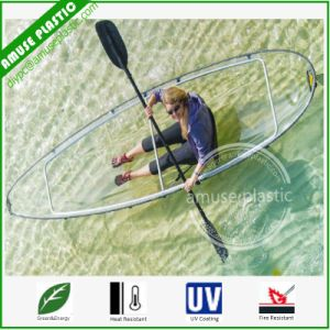 100% See Through Clear Plastic Bottom Transparent Canoe Kayaks Fishing pictures & photos