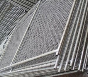 6ftx10FT American Temporary Chain Link Construction Fence Panel pictures & photos