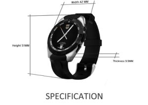 No. 1 G5 Smart Watch with Heart Rate Monitor for Android Ios Phone pictures & photos