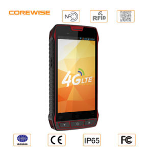 WiFi 5inch IP65 Rugged Handheld PDA, Android Tablet PDA with Hf RFID Barcode Scanner pictures & photos