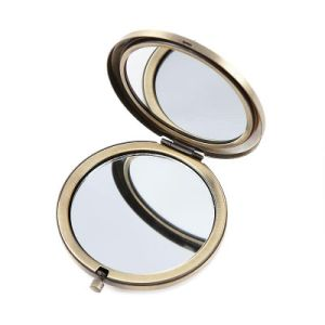 Cartoon Design Double Magnifying Compact Cosmetic Make up Hand Mirror 3.2 Ounce pictures & photos