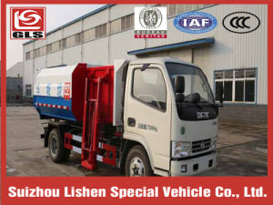 4X2 Hydraulic Lifter Garbage Truck pictures & photos