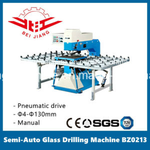 Glass Semi-Auto Drilling Machine with Work Table pictures & photos