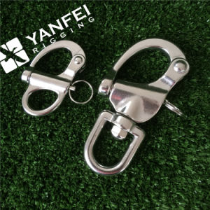 Stainless Steel Snap Shackle with Swivel Eye pictures & photos