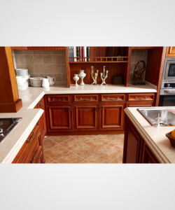 Bck Solid Wood Kitchen (zq-010) pictures & photos