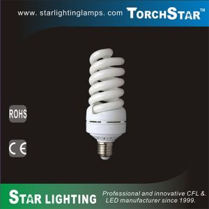6400k 50W 60W 70W T5 Full Spiral E27 PBT CFL Lamp pictures & photos