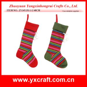 Christmas Decoration (ZY14Y191-1-2) Christmas Stockings pictures & photos