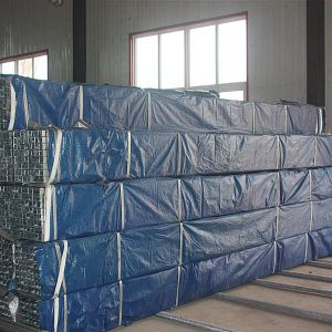 Pre-Galvanized Square Steel Pipe (80*40) pictures & photos