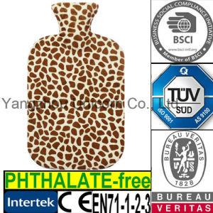 CE Giraffe Hot Water Bottle Fleece Cover pictures & photos