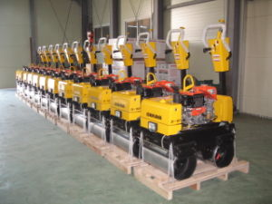 Vibratory Walk Behind Road Roller pictures & photos