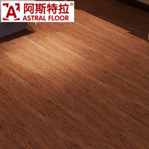 Click System Household 12mm /Wave Embossed Laminate Flooring pictures & photos