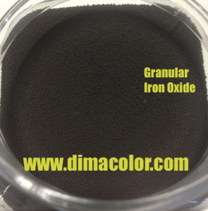 for Paint Coating Bead Granular Iron Oxide Black G330 pictures & photos