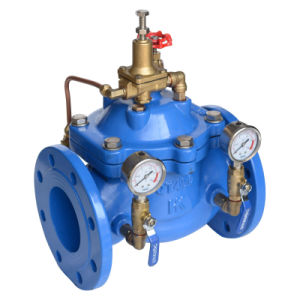 Double Flange Adjustable Pressure Reducing Valve 200X pictures & photos