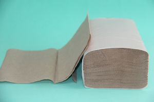 Hot Sale Cheap V Fold Paper Towel Single Fold Paper Towel pictures & photos