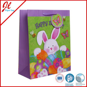 Ctory Direct Easter Paper Bags for Easter with Hang Tag Hot Stamping pictures & photos