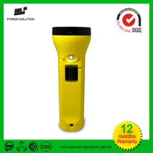 Portable Solar USB Rechargeable LED Flashlight Torch pictures & photos