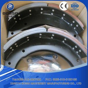 China Cast Iron Brake Shoe Manufacturer for Scania Truck Trailer pictures & photos