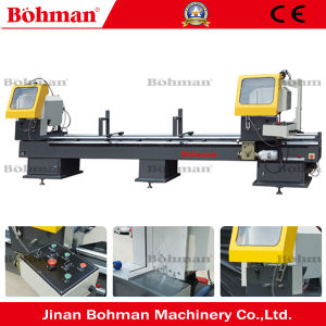 Double Head Cut Aluminium Window Frame Making Machine pictures & photos