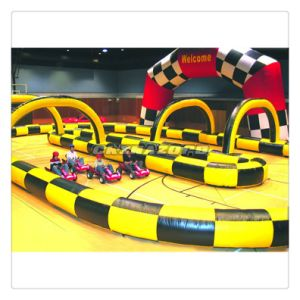 Most Popular Inflatable Race Track for Mini Motorcycle