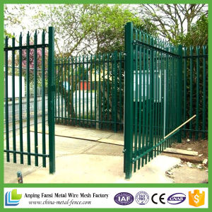 Hot Dipped Galvanized Palisade Fence / Steel Fence pictures & photos