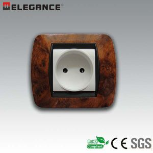 LV13-9-N Italian 2 Module Plastic Wall Switch pictures & photos