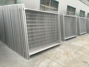 Temporary Hoarding Fence Hot Dipped Galvanized Steel Materials 2100mm X 2400mm for Oceania pictures & photos