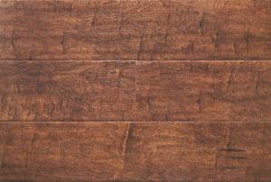 12.3mm Wood Texture Handscraped HDF Laminate Floor AC3 CE pictures & photos