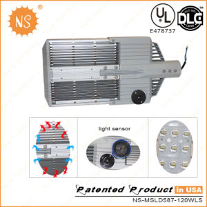UL Dlc Lm79 Mean Well Driver 120lm/W 120W LED Street Lighting pictures & photos