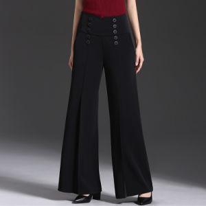Wholesale Plus Size Palazzo Pants for Women Wide Leg Pants pictures & photos
