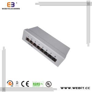 8 Ports STP Mini Cat5e Patch Pane with Krone IDC pictures & photos