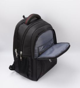 Black Laptop School Sport Backpack Bag with Leisure Design pictures & photos