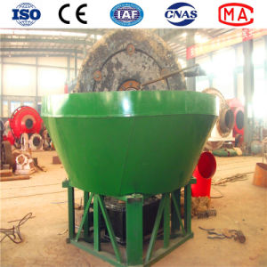 Gold Wet Pan Mill Grinding /Cone Wet Grinding Machine for Gold pictures & photos