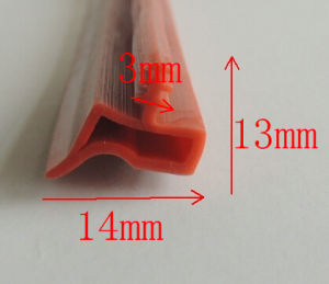 Windproof Fireproof PVC Rubber Seal pictures & photos