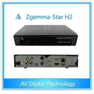 DVB T2 Set Top Box Zgemma-Star H2 with Twin Tuner pictures & photos