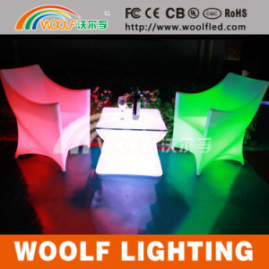 LED Lighting Hotel Restaurant Bar Furniture Chair and Table pictures & photos