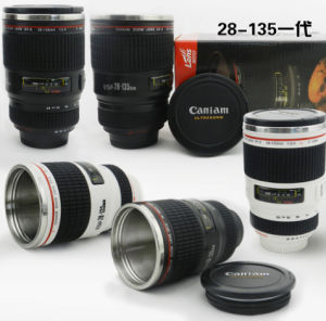 28-135mm Stainless Steel Caniam Camera Lens Coffee Cup C Series 1th