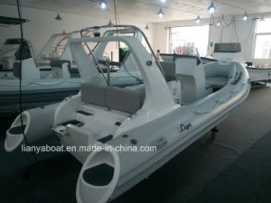Liya 17ft Rigid Inflatable Boat Hypalon Inflatable Boat Military Fast Boats pictures & photos